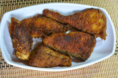 Fish fry. Indian fish fry dish. Spicy roasted fish fry in a traditional style Stock Photography