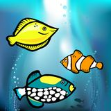 Fish graphic  Stock Images