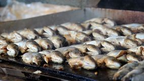 Fish on the grill Stock Photography