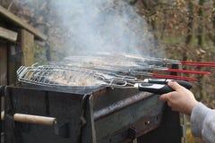 Fish grill Stock Photos
