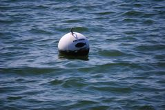 Fish Habitat Warning Buoy Royalty Free Stock Photo