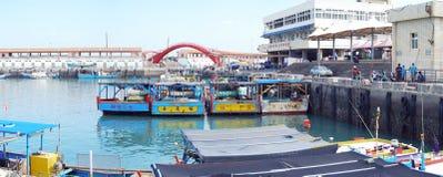 Fish Harbor, ChuWei - panorama Royalty Free Stock Photo
