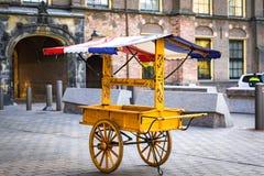 Fish Haring cart royalty free stock images