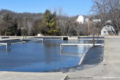 Fish Hatchery in Decorah, Iowa Stock Images