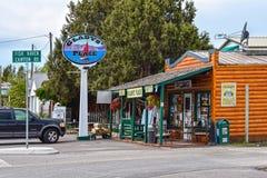 Fish Haven, Idaho, Gladys Place, Oregon trail royalty free stock photography
