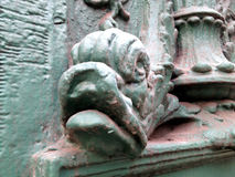 Fish head architectural detail Stock Images