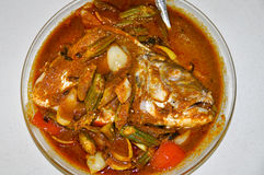 Fish Head Curry Stock Images