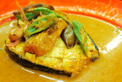 Fish head curry delicacy