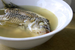 Fish head soup Royalty Free Stock Photos