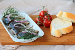 Fish herring Royalty Free Stock Image