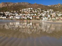 FISH HOEK BEACH Stock Image