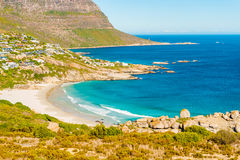 Fish Hoek and the beach Stock Photos