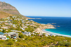 Fish Hoek and the beach Royalty Free Stock Photography