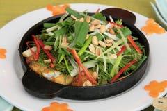 Fish Hot Plate Royalty Free Stock Image