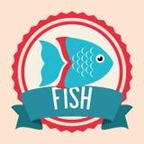 Fish icon design. Fish digital design, vector illustration 10 eps graphic Stock Photo