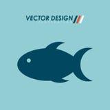 Fish icon design. Illustration eps10 graphic Stock Photography