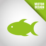 Fish icon design. Illustration eps10 graphic Stock Photo