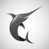 Fish icon design. Illustration eps10 graphic Stock Images
