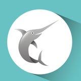 Fish icon design. Illustration eps10 graphic Stock Photos
