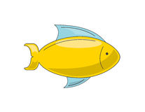 Fish icon  design. Fish icon design,  illustration eps10 graphic Royalty Free Stock Photo