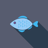 Fish icon Stock Photography