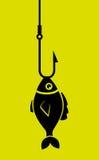 Fish icon graphic design Stock Photos