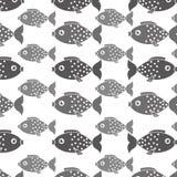 Fish icon graphic design Stock Photography