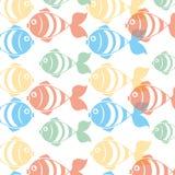 Fish icon graphic design Royalty Free Stock Photo