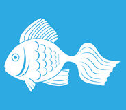 Fish icon graphic design. Vector illustration eps10 Royalty Free Stock Image