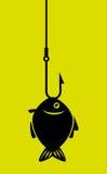 Fish icon graphic design. Vector illustration eps10 Stock Photos