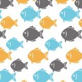 Fish icon graphic design Stock Photo