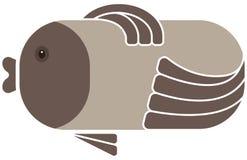 Fish icon Royalty Free Stock Image