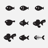 Fish icon Stock Images