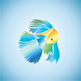 Fish ideas design  illustration graphic background. Fish ideas design  illustration graphic on background Royalty Free Stock Photos
