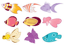 Fish illustration Royalty Free Stock Photo
