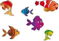 Fish illustration stock image