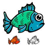 Fish illustration Royalty Free Stock Photo
