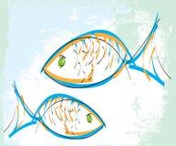 Fish illustration Stock Images