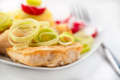 Fish In Batter Royalty Free Stock Image