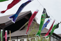 Fish Japanese kite Royalty Free Stock Image