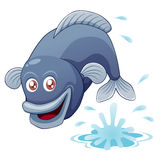 Fish jumping Stock Images