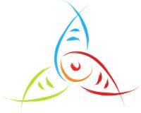 Fish logo Stock Photo