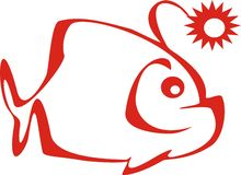 fish,  logo Stock Image