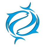 Fish logo Stock Photos