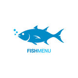 Fish logo design vector background. 8 eps Stock Images