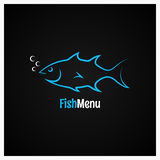 Fish logo design vector background. 8 eps Stock Image