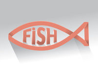 Fish logo Royalty Free Stock Images