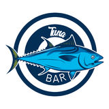 Fish logo template Stock Photography