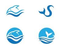 Fish logo template. Creative vector symbol Stock Photography
