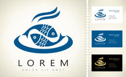 Fish logo vector Royalty Free Stock Photography
